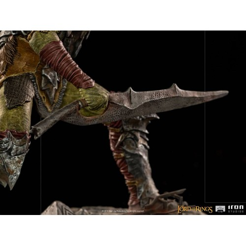 Lord Of The Rings BDS Art Scale Statue 1/10 Swordsman Orc 16 cm Iron Studios - 12