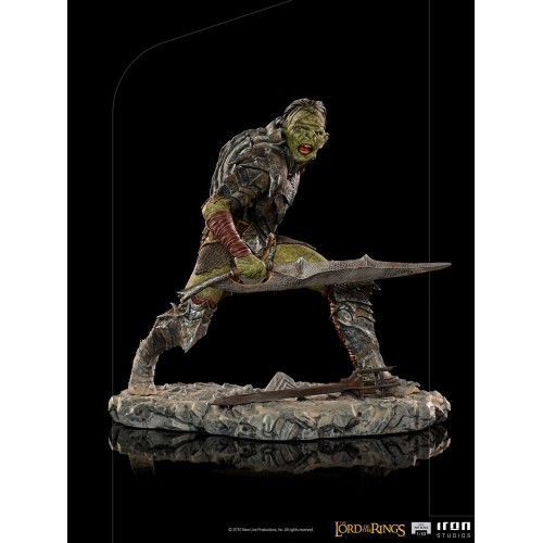 Lord Of The Rings BDS Art Scale Statue 1/10 Swordsman Orc 16 cm Iron Studios - 13