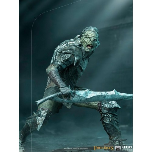 Lord Of The Rings BDS Art Scale Statue 1/10 Swordsman Orc 16 cm Iron Studios - 14