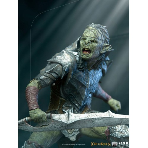 Lord Of The Rings BDS Art Scale Statue 1/10 Swordsman Orc 16 cm Iron Studios - 15