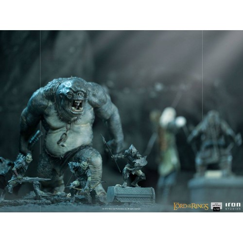 Lord Of The Rings BDS Art Scale Statue 1/10 Swordsman Orc 16 cm Iron Studios - 17