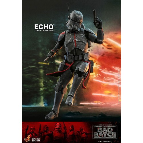 Star Wars The Bad Batch Action Figure 1/6 Echo 29 cm Hot Toys - 6