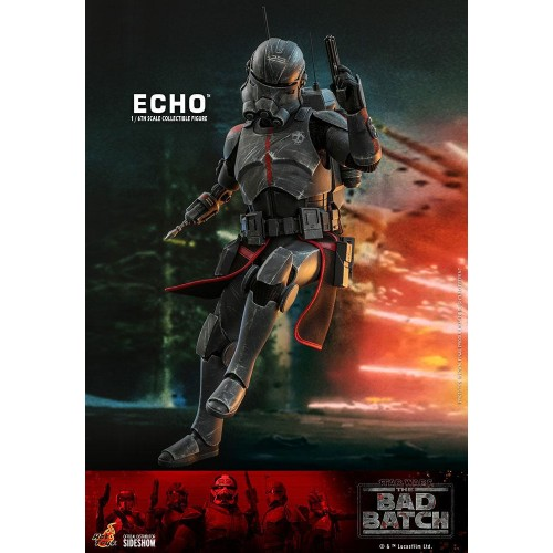 Star Wars The Bad Batch Action Figure 1/6 Echo 29 cm Hot Toys - 7