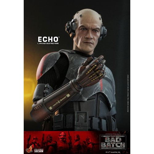 Star Wars The Bad Batch Action Figure 1/6 Echo 29 cm Hot Toys - 11