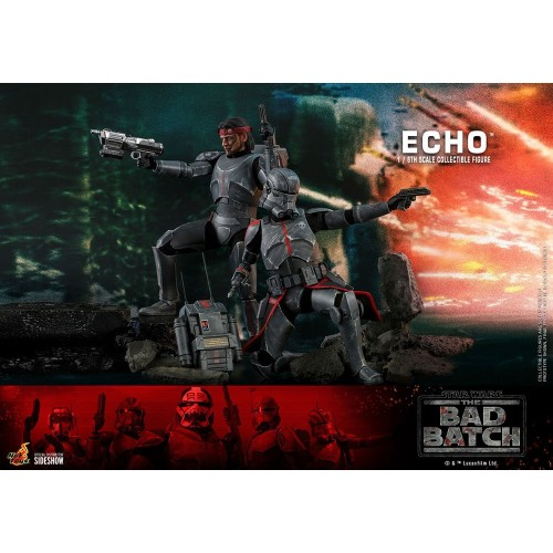 Star Wars The Bad Batch Action Figure 1/6 Echo 29 cm Hot Toys - 13