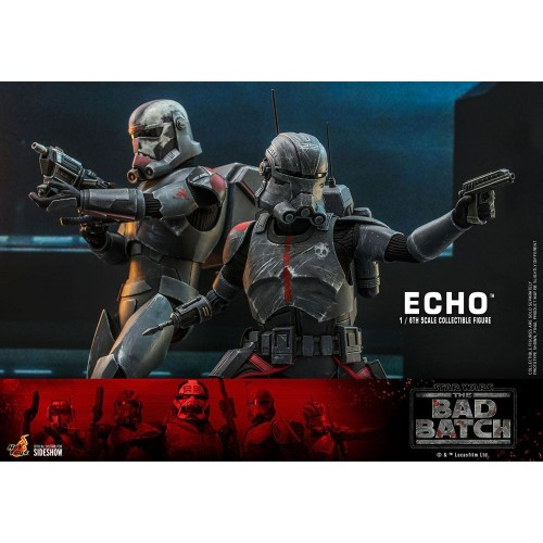 Star Wars The Bad Batch Action Figure 1/6 Echo 29 cm Hot Toys - 15