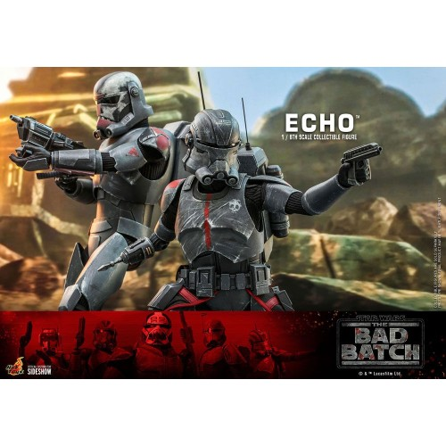 Star Wars The Bad Batch Action Figure 1/6 Echo 29 cm Hot Toys - 16