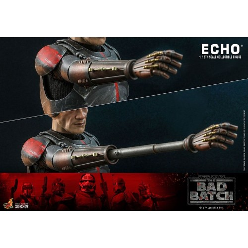 Star Wars The Bad Batch Action Figure 1/6 Echo 29 cm Hot Toys - 19