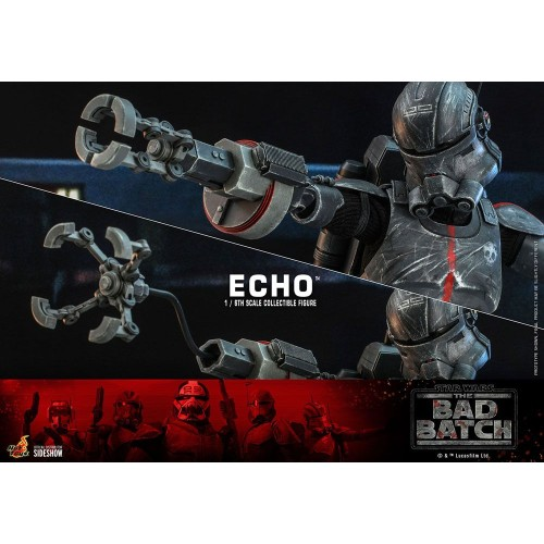 Star Wars The Bad Batch Action Figure 1/6 Echo 29 cm Hot Toys - 21
