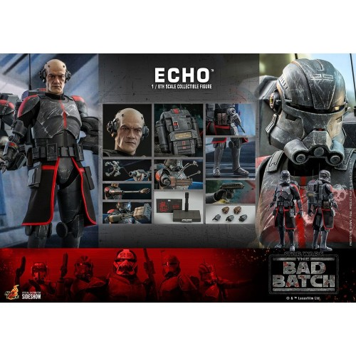 Star Wars The Bad Batch Action Figure 1/6 Echo 29 cm Hot Toys - 22