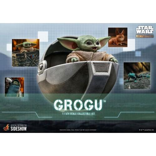 Star Wars The Mandalorian Action Figures 1/6 Grogu Hot Toys - 2