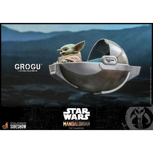 Star Wars The Mandalorian Action Figures 1/6 Grogu Hot Toys - 5