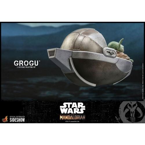 Star Wars The Mandalorian Action Figures 1/6 Grogu Hot Toys - 6