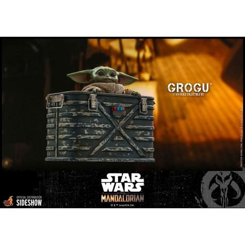 Star Wars The Mandalorian Action Figures 1/6 Grogu Hot Toys - 9