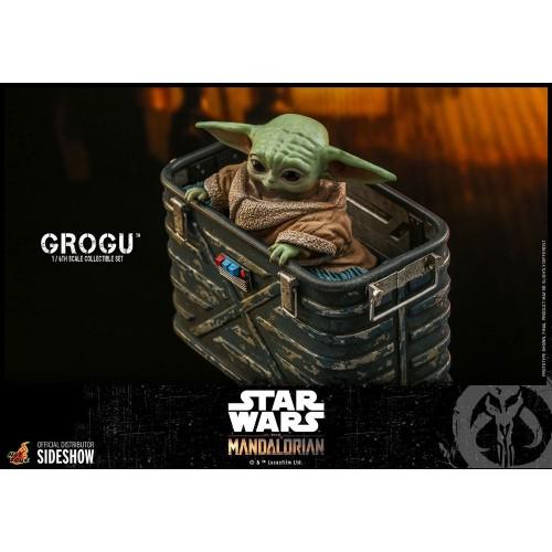 Star Wars The Mandalorian Action Figures 1/6 Grogu Hot Toys - 10