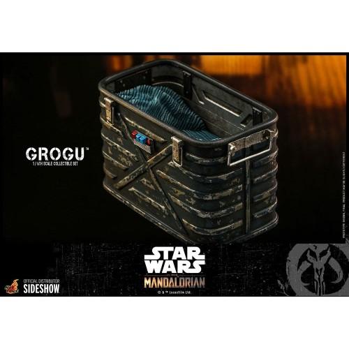 Star Wars The Mandalorian Action Figures 1/6 Grogu Hot Toys - 11