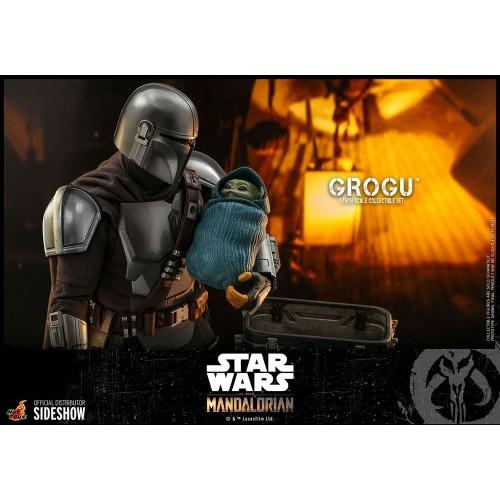Star Wars The Mandalorian Action Figures 1/6 Grogu Hot Toys - 12