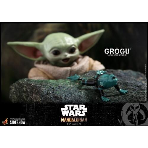 Star Wars The Mandalorian Action Figures 1/6 Grogu Hot Toys - 13