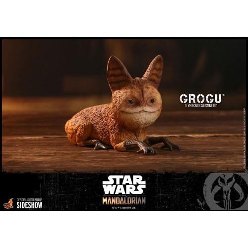 Star Wars The Mandalorian Action Figures 1/6 Grogu Hot Toys - 16