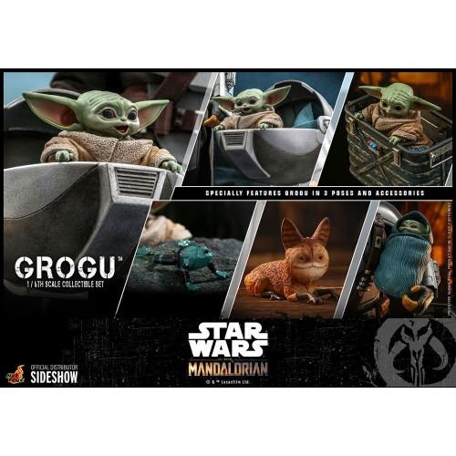 Star Wars The Mandalorian Action Figures 1/6 Grogu Hot Toys - 18