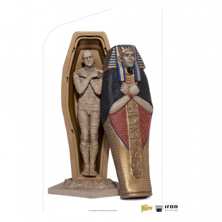 Universal Monsters Art Scale Statue 1/10 The Mummy 25 cm Iron Studios - 1