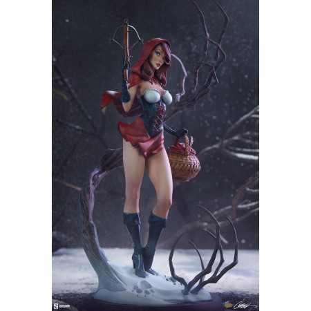 Fairytale Fantasies Collection Statue Red Riding Hood 48 cm Sideshow Collectibles - 1