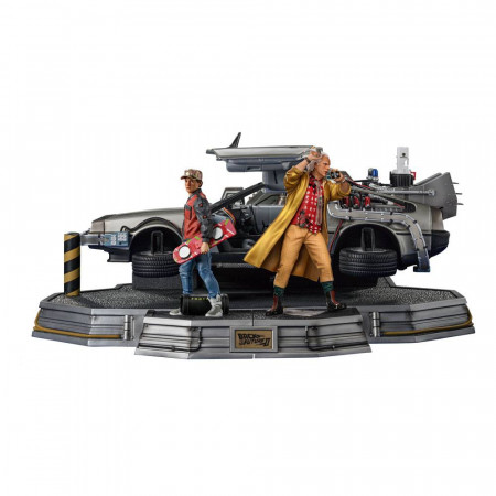 Back to the Future II Art Scale Statues 1/10 Full Set Deluxe 58 cm Iron Studios - 1