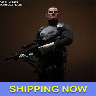 Marvel Comics Action Figure 1/6 The Punisher 30 cm by Sideshow Collectibles