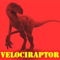 Velociraptor Statues Action-Figures collectibles