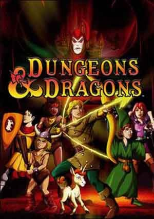 Dungeons & Dragons TV show Statues figures collectibles at Statuesque Ltd