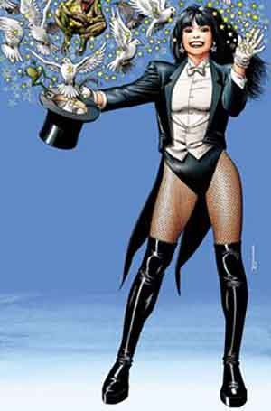 DC Comics Zatanna statues figures collectibles at Statuesque Ltd
